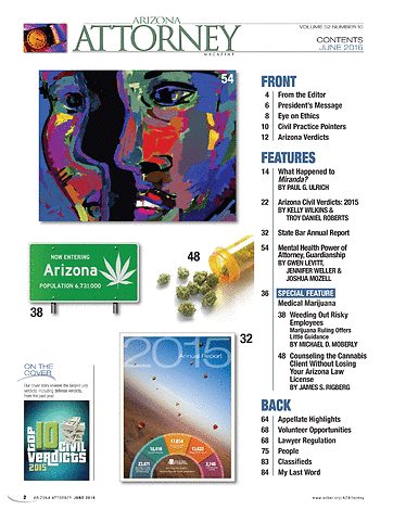 Arizona Attorney June 2016 Page 2 3