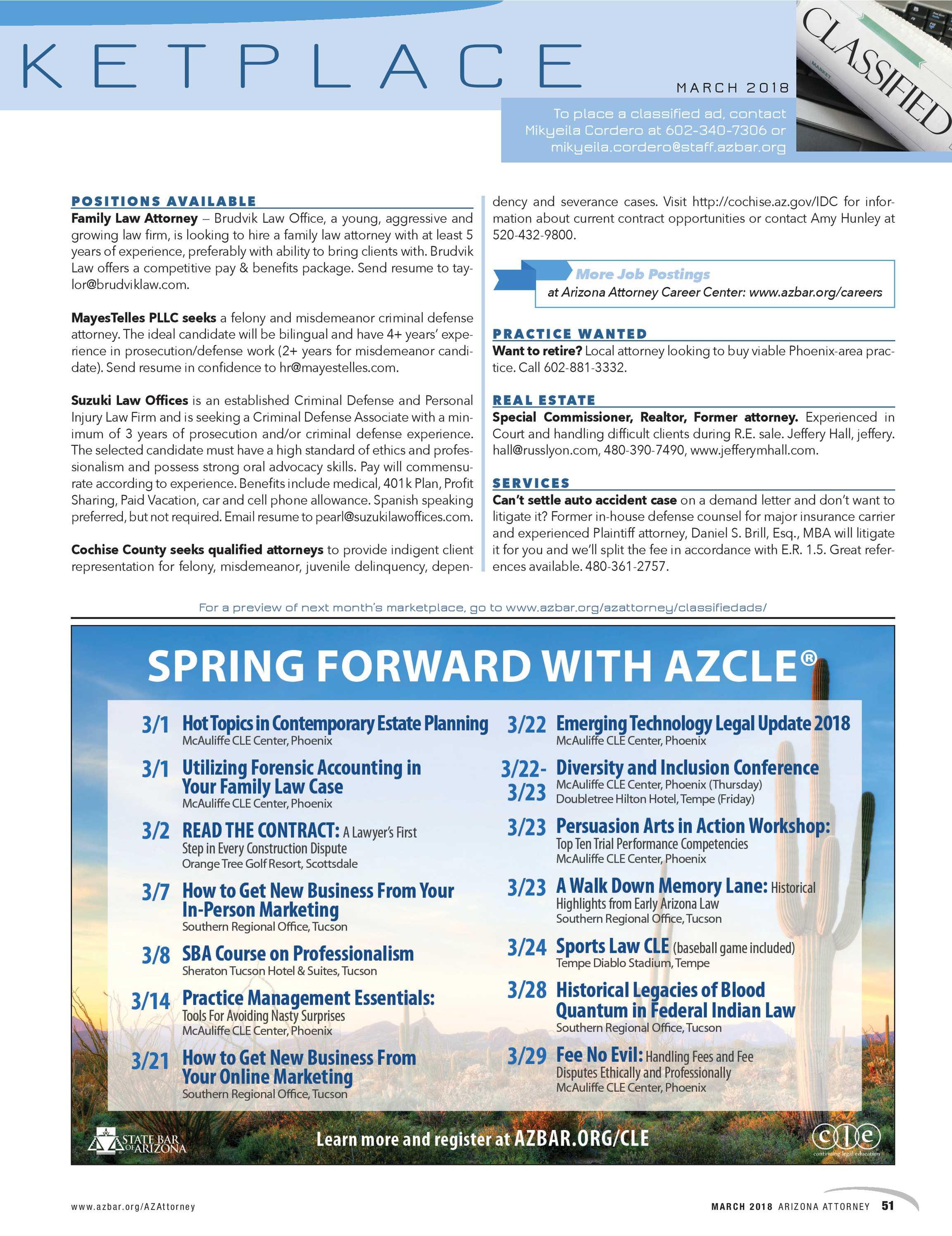 Arizona Attorney - March 2018 - page 50