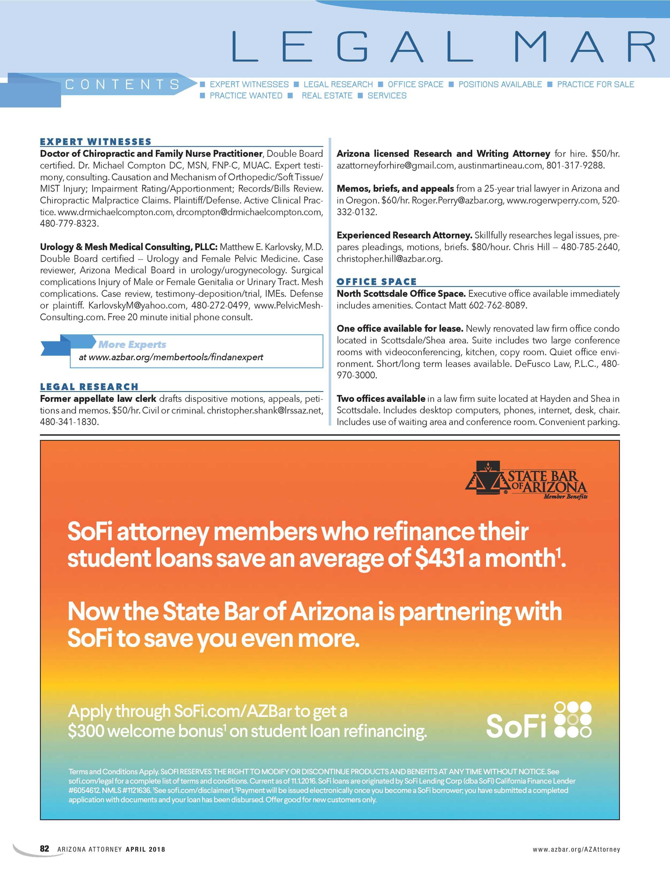 Arizona Attorney April 2018 Page 82