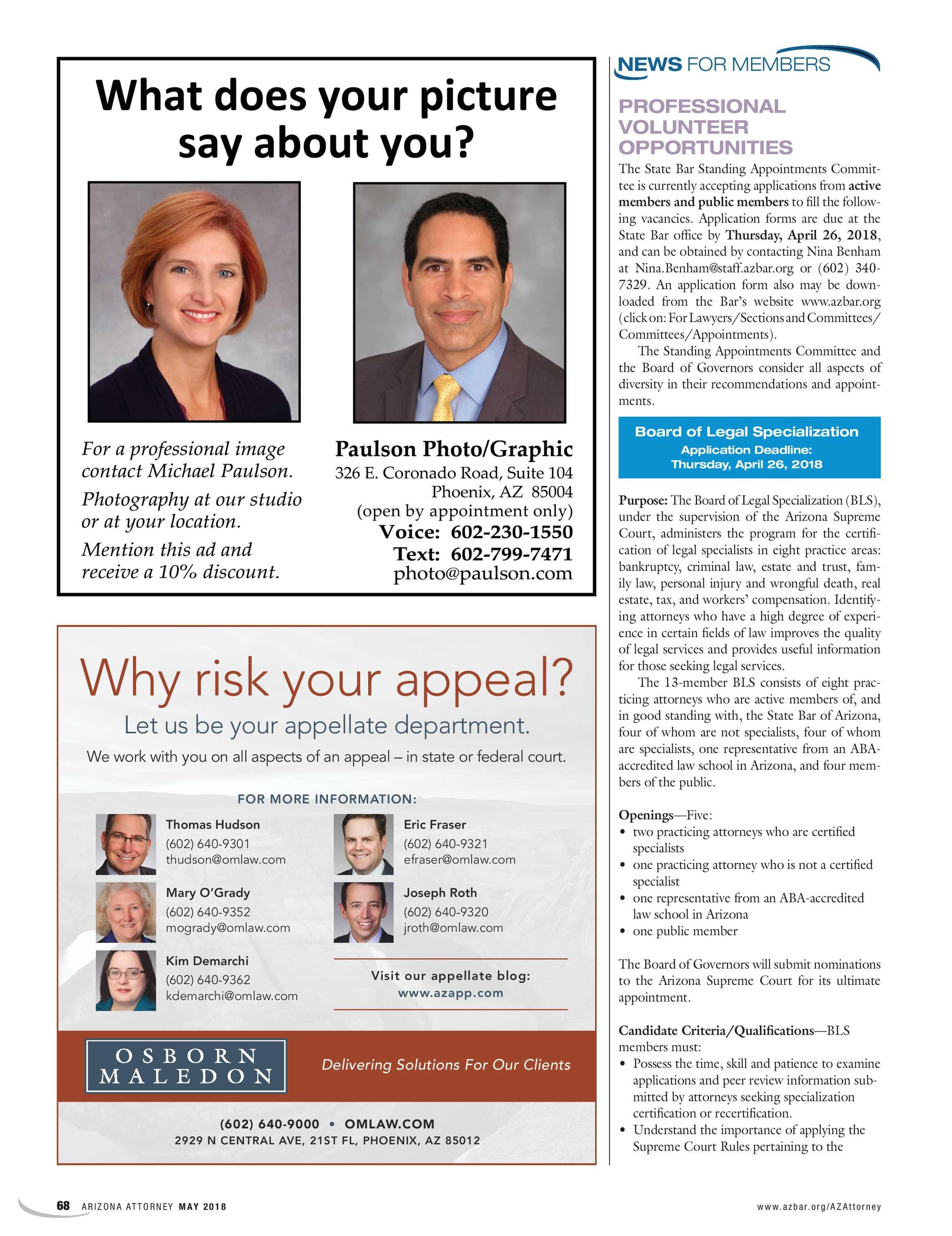 Arizona Attorney May 2018 Page 68