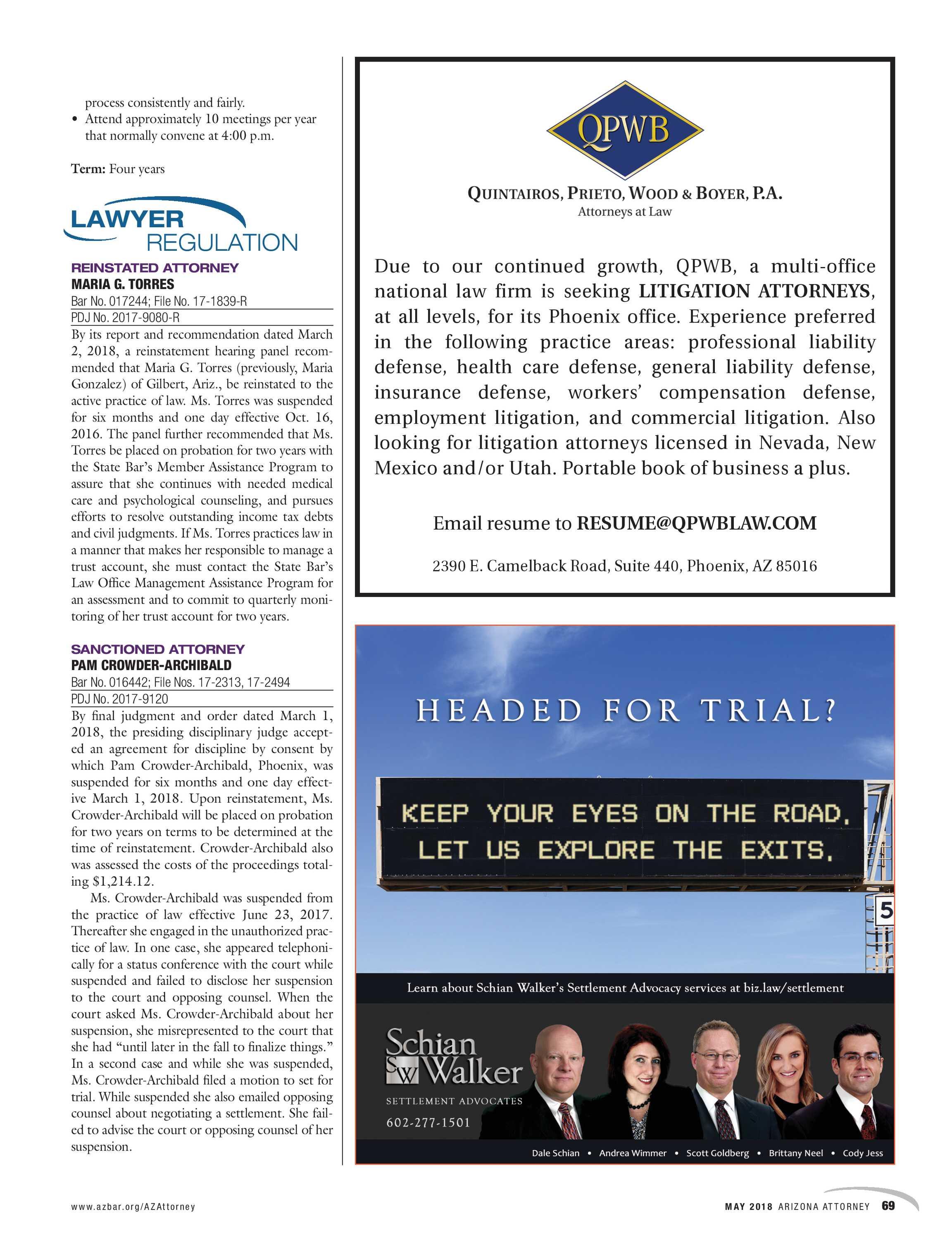 Arizona Attorney May 2018 Page 69