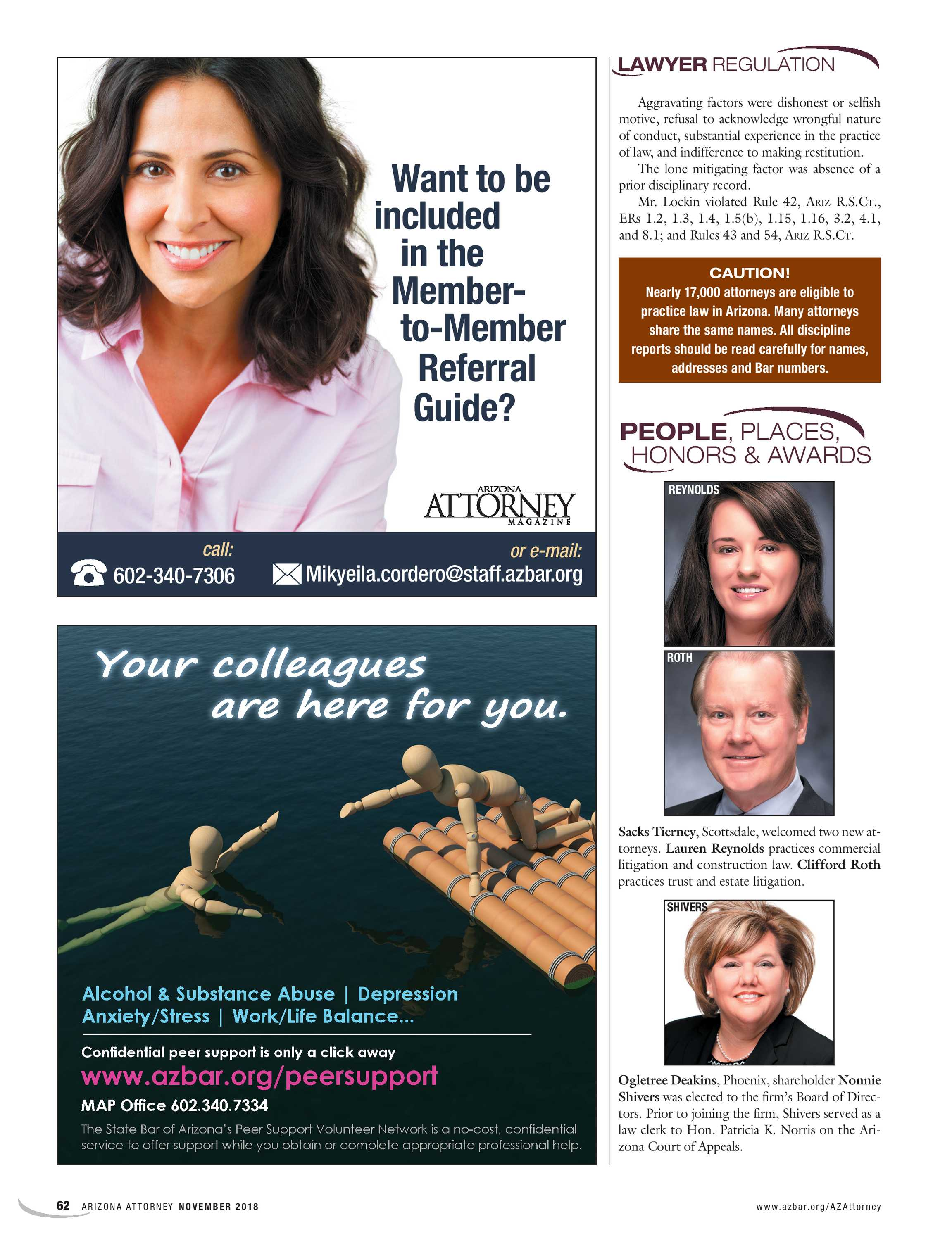 Arizona Attorney - November 2018 - page 62