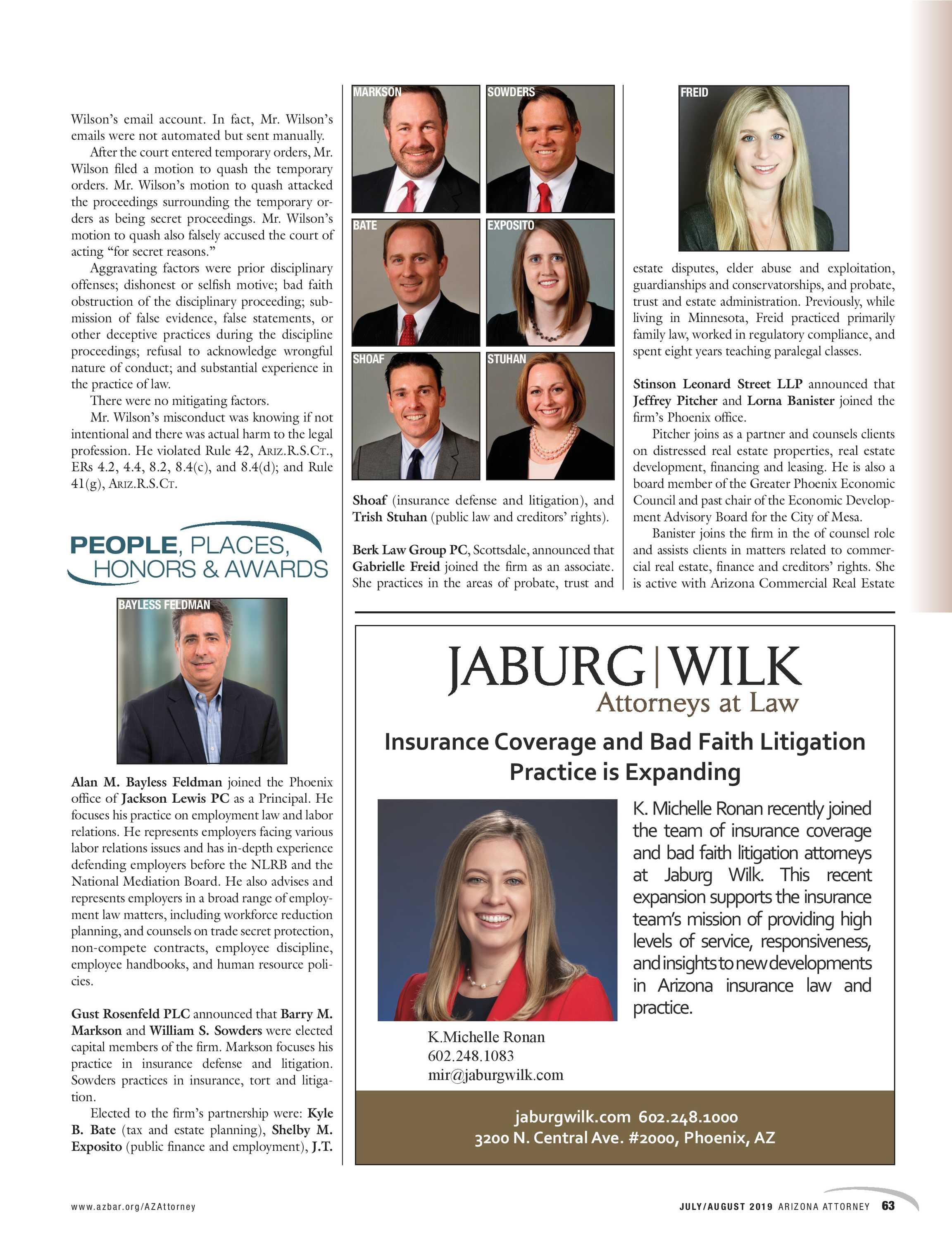 Arizona Attorney July August 2019 Page 63